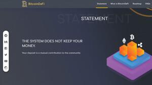 BitcoinDeFi kêu cứu vì bị nghi oan là 'đa cấp'?